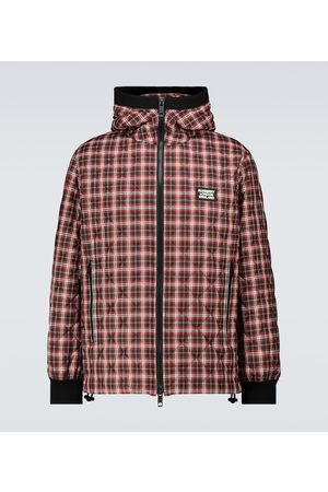 Burberry Mænd Vinterjakker - Diamond quilted checked jacket