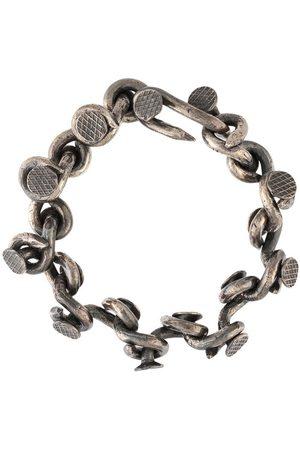 GUIDI Nail chain-link bracelet