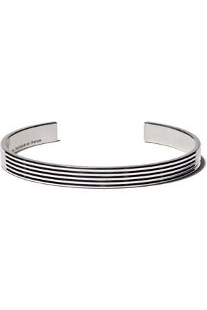Le Gramme Enamelled cuff bracelet