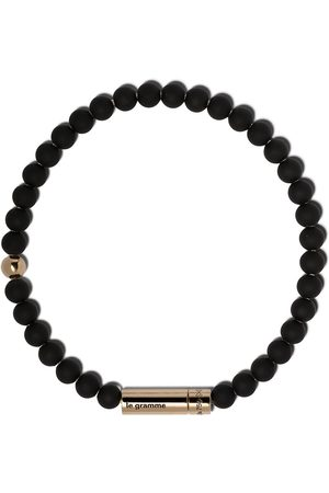 Le Gramme 18kt yellow gold 25g beads bracelet