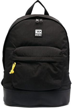 Diesel Logo patch backpack