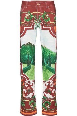 Casablanca Mænd Straight - Fenetre Sur Le Lac jeans