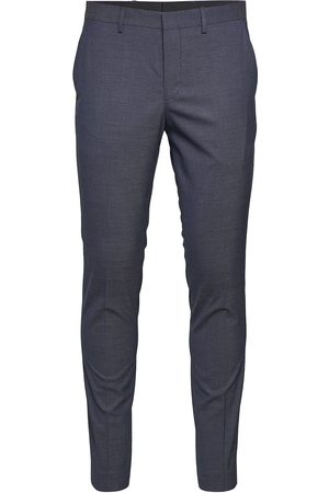 Selected Slhslim-Mazelogan Blue Struc Trs B Noos Casual Bukser
