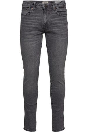 Selected Slhslim-Leon 3035 Mid.Grey St Jns J Noos Slim Jeans