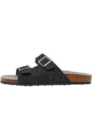 Bianco Mænd Sandaler - Biacas Sandaler Med Spænder Mænd Sort