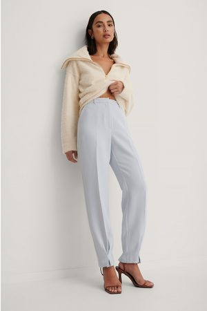 Trine Kjaer x NA-KD Ankle Detail Suit Pants