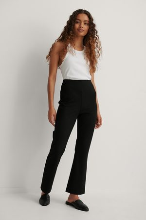NA-KD Kvinder Leggings - Bootcut Jersey Pants