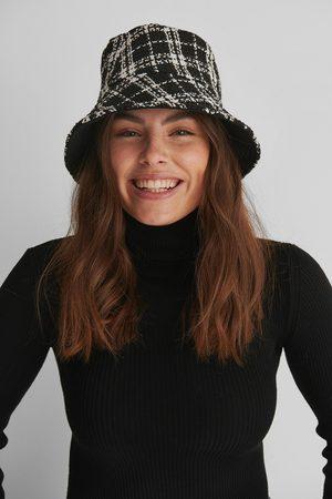 NA-KD Checkered Tweed Bucket Hat