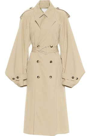Bottega Veneta Cotton-blend gabardine trench coat