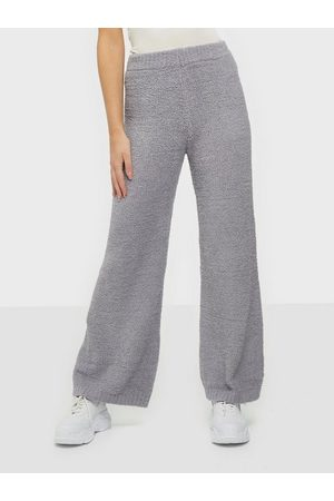 Missguided Popcorn Wide Leg Trouser Bukser