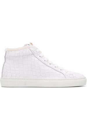 HIDE&JACK High-top sneakers med krokodilleeffekt
