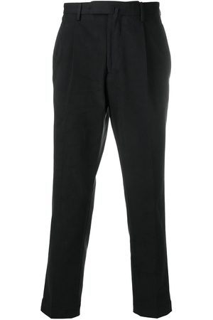 DELL'OGLIO Concealed front chinos