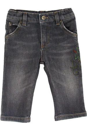Dolce & Gabbana Jeans - Antracit m. Broderi
