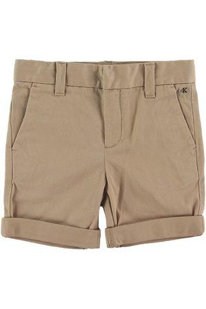 Calvin Klein Shorts - Slim Chino - Sand