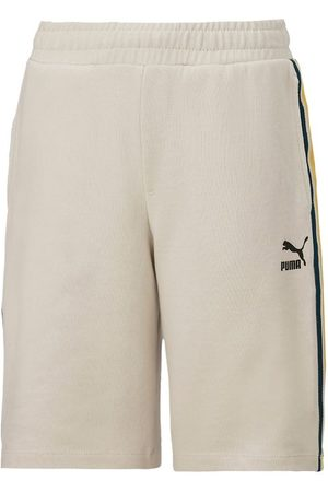 PUMA Shorts - Tape - Silver Birch m. Stribe