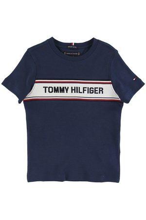 Tommy Hilfiger T-shirt - Intarsia - Navy
