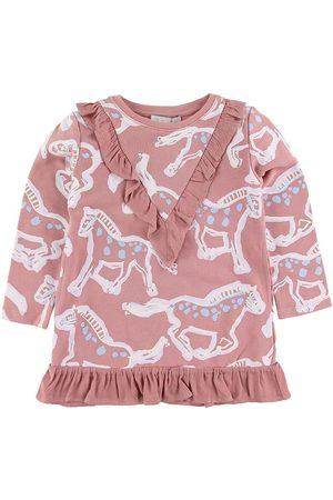 Stella McCartney Kjole - Painted Horses - Rosa