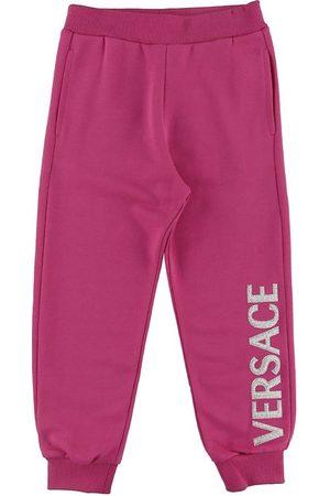 VERSACE Versace Sweatpants - Fuchsia m. Logo