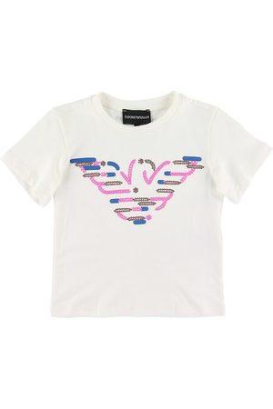 Emporio Armani T-shirt - m. Pailletter