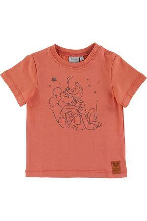 Disney Kortærmede - T-shirt - Big Friend Hug - Wood