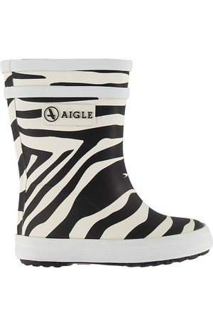Aigle Gummistøvler - Baby Flac - Zebra