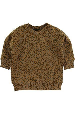 Soft Gallery Sweatshirts - Sweatshirt - Alexi - Golden Brown/Leospot