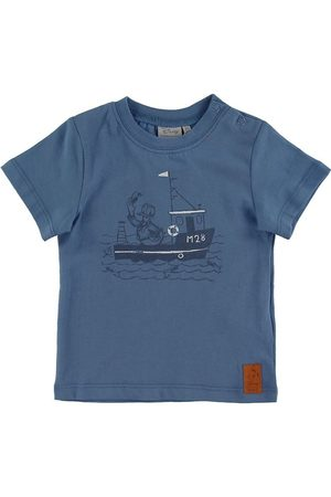 Disney Kortærmede - T-shirt - Captain Donald Duck - Blue Horizon
