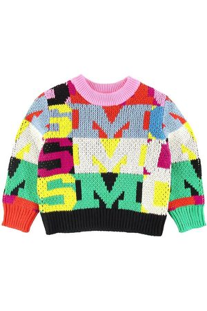 Stella McCartney Strik - Striktrøje - Intarsia Letters - Multifarve