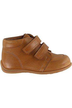 Bisgaard Lær-at-gå sko - Begyndersko - Luca - Cognac m. Velcro
