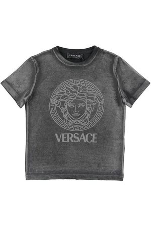 VERSACE Kortærmede - Versace T-shirt - Reflektiv - m. Logo