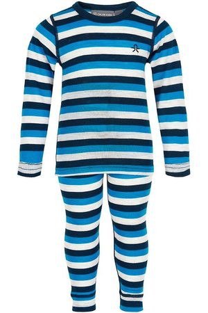 Color Kids Undertøjssæt - Undertøjssæt - Dress Blues m. Striber