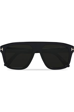 Tom Ford Mænd Solbriller - Thor FT0777 Sunglasses Black/Polarized