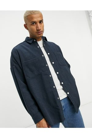 ASOS Ekstremt oversized, skjorte i uldblanding
