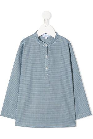 SIOLA Drenge Langærmede skjorter - Langærmet skjorte med mikromønster