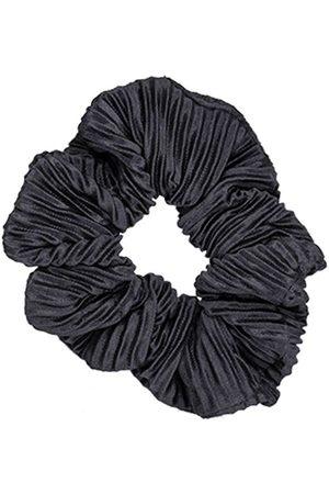 Bows By Stær Håraccessories - Scrunchie - Plisse Black