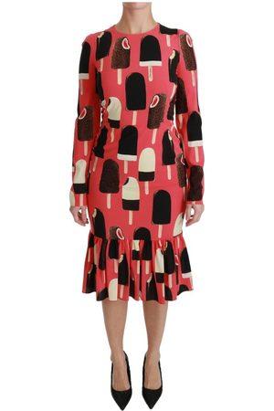 Dolce & Gabbana Silk Stretch Dress