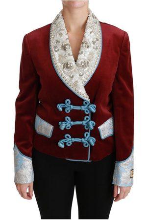 Dolce & Gabbana Baroque Crystal Blazer Jacket
