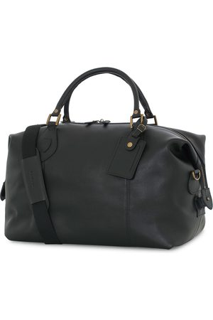 Barbour Mænd Weekendtasker - Leather Medium Travel Explorer Black