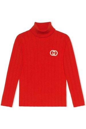 Gucci Logo turtleneck sweater