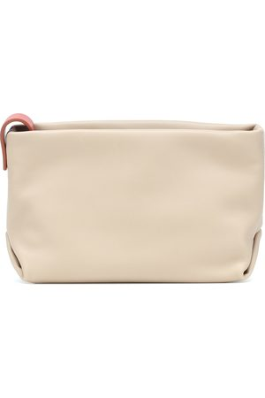 Loro Piana Inside Out Small leather pouch