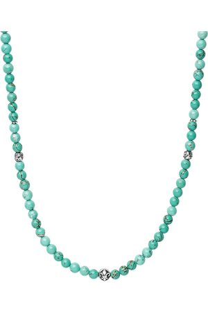 Nialaya Jewelry Turkis perlehalskæde