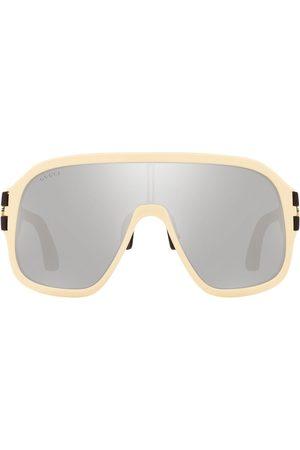 Gucci GG0663S mask-frame sunglasses