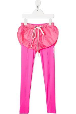 Natasha Zinko Running short-overlay leggings