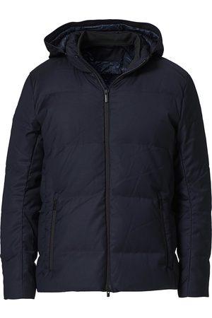 UBR Oxygen Down Savile Jacket Dark Navy Wool
