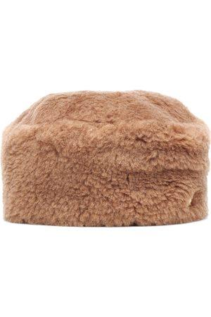 Max Mara Kvinder Hatte - Colby camel hair hat