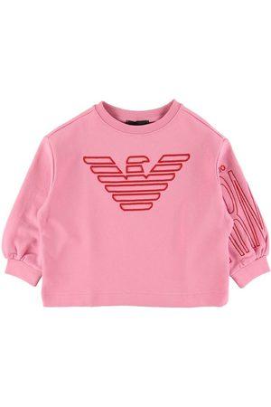 Emporio Armani Sweatshirts - Sweatshirt - Rosa m. Logo