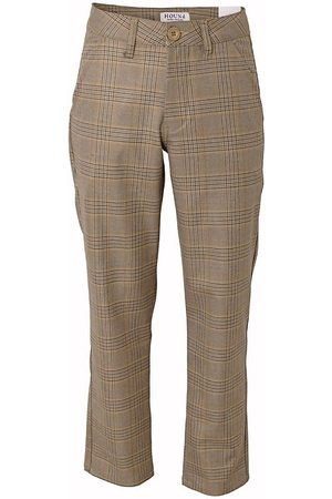 Hound Chinos - Bukser - Wide Chino - Brunternet