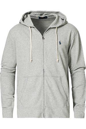 Polo Ralph Lauren Mænd Sweatshirts - Full Zip Hoodie Light Grey Heather