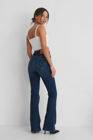 NA-KD Kvinder Bootcut - Skinny Bootcut Jeans