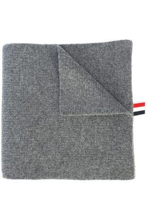 Thom Browne Mænd Tørklæder - 4-Bar Stripe Cashmere Rib Scarf